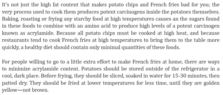 French Fries and Potatoe Chips...